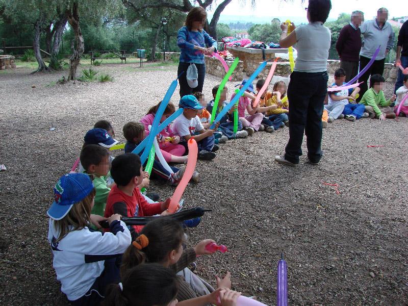 Actividades en el parque